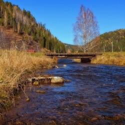Пазл онлайн: Река Большой Унгут