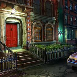 Пазл онлайн: Тихая улица