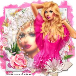 Пазл онлайн: Волнующий розовый