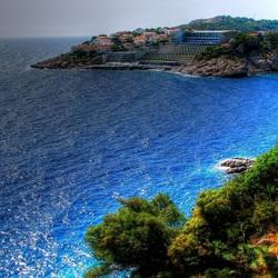 Пазл онлайн: Курорт на побережье