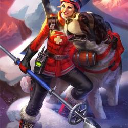 Пазл онлайн: Скади: небесный патруль