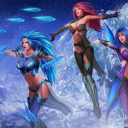 Пазл онлайн: Гендра, Вендра и Луна