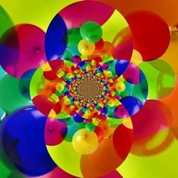 Пазл онлайн: Фрактальные шары