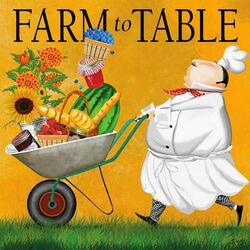 Пазл онлайн: С фермы на стол