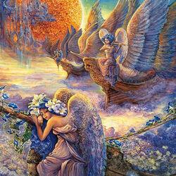 Пазл онлайн: Страна ангелов