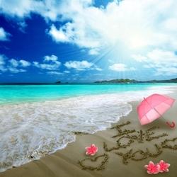 Пазл онлайн: Море, я люблю тебя
