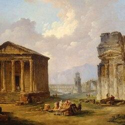 Пазл онлайн: Античные руины