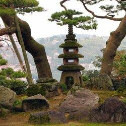 Пазл онлайн: Символизм японского парка
