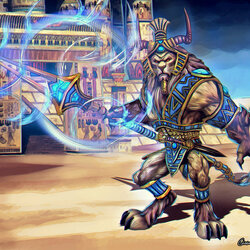 Пазл онлайн: Анхур: страж храма