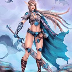 Пазл онлайн: Эдана - истребительница драконов