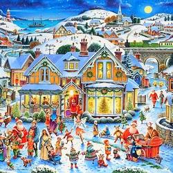 Пазл онлайн: Кто Санта?