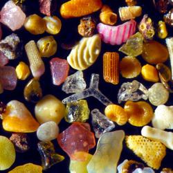 Пазл онлайн: Увеличенный песок в 300 раз