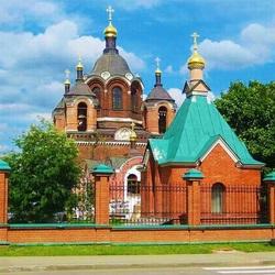 Пазл онлайн: Московский храм