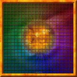 Пазл онлайн: Солнечная клетка