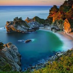 Пазл онлайн: Побережье Калифорнии