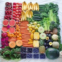 Пазл онлайн: Овощи - фрукты - ягоды