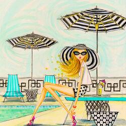 Пазл онлайн: Ах, лето!
