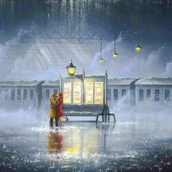 Пазл онлайн: Последний поезд домой