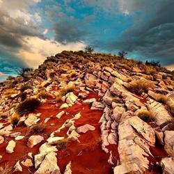 Пазл онлайн: Гора из камней