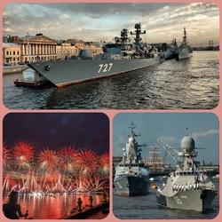 Пазл онлайн: День Военно-Морского флота