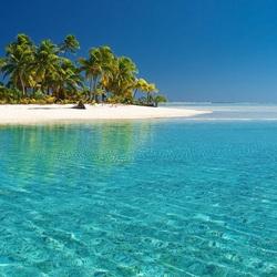 Пазл онлайн: Остров в тропиках