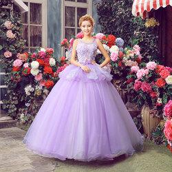Пазл онлайн: Платье принцессы