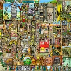 Пазл онлайн: Наш город