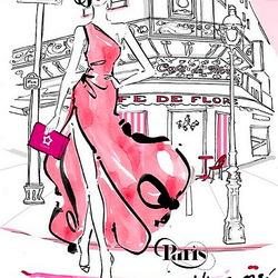 Пазл онлайн: Прогулки по Парижу