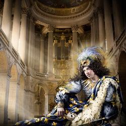 Пазл онлайн: Людовик XIV