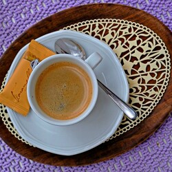 Пазл онлайн: Чашечка кофе
