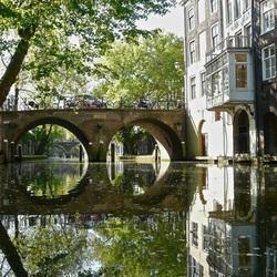 Пазл онлайн: Каналы в Нидерландах