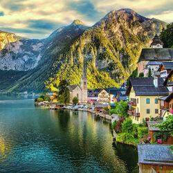 Пазл онлайн: В Альпах