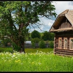 Пазл онлайн: Очарование деревни