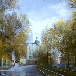 Пазл онлайн: Яузский бульвар