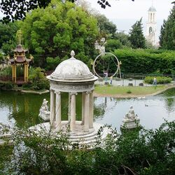 Пазл онлайн: Парк цветов Асикага