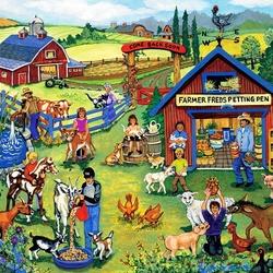 Пазл онлайн: Ферма Фреда Патинга