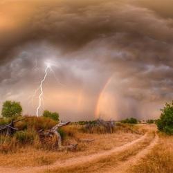 Пазл онлайн: Молния