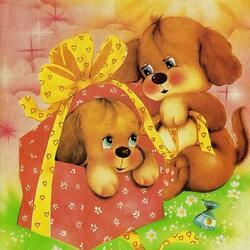 Пазл онлайн: Подарочек