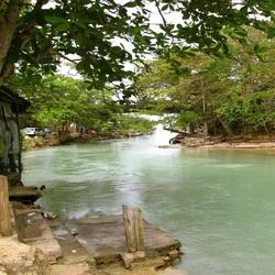 Пазл онлайн: У берега речки