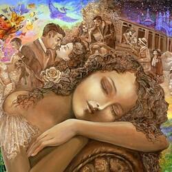 Пазл онлайн: Волшебный сон