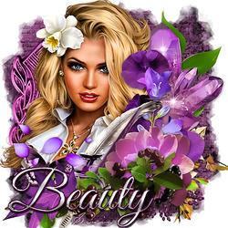 Пазл онлайн: Красотка