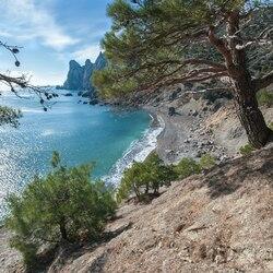 Пазл онлайн: Царский пляж