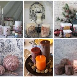 Пазл онлайн: Такие разные свечи