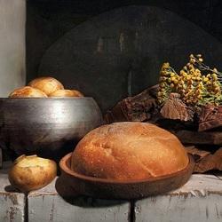 Пазл онлайн: У русской печи
