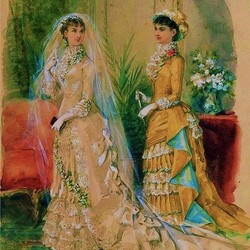 Пазл онлайн: Взгляд в 19-ый век