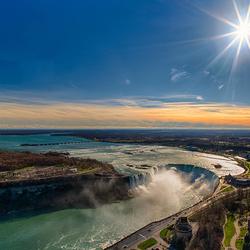 Пазл онлайн: Ниагарский водопад