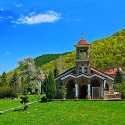 Пазл онлайн: Монастырь
