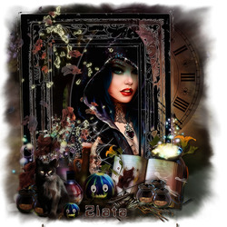 Пазл онлайн: Время ведьмы