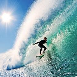 Пазл онлайн: Ловец волн