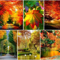 Пазл онлайн: Самое красивое время года